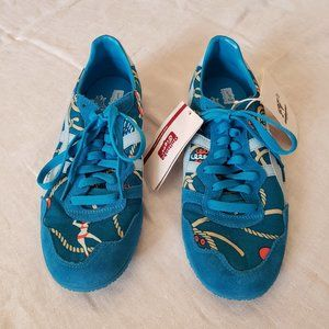 ONITSUKA TIGER SERRANO PRINTED BLUE Womens Shoes